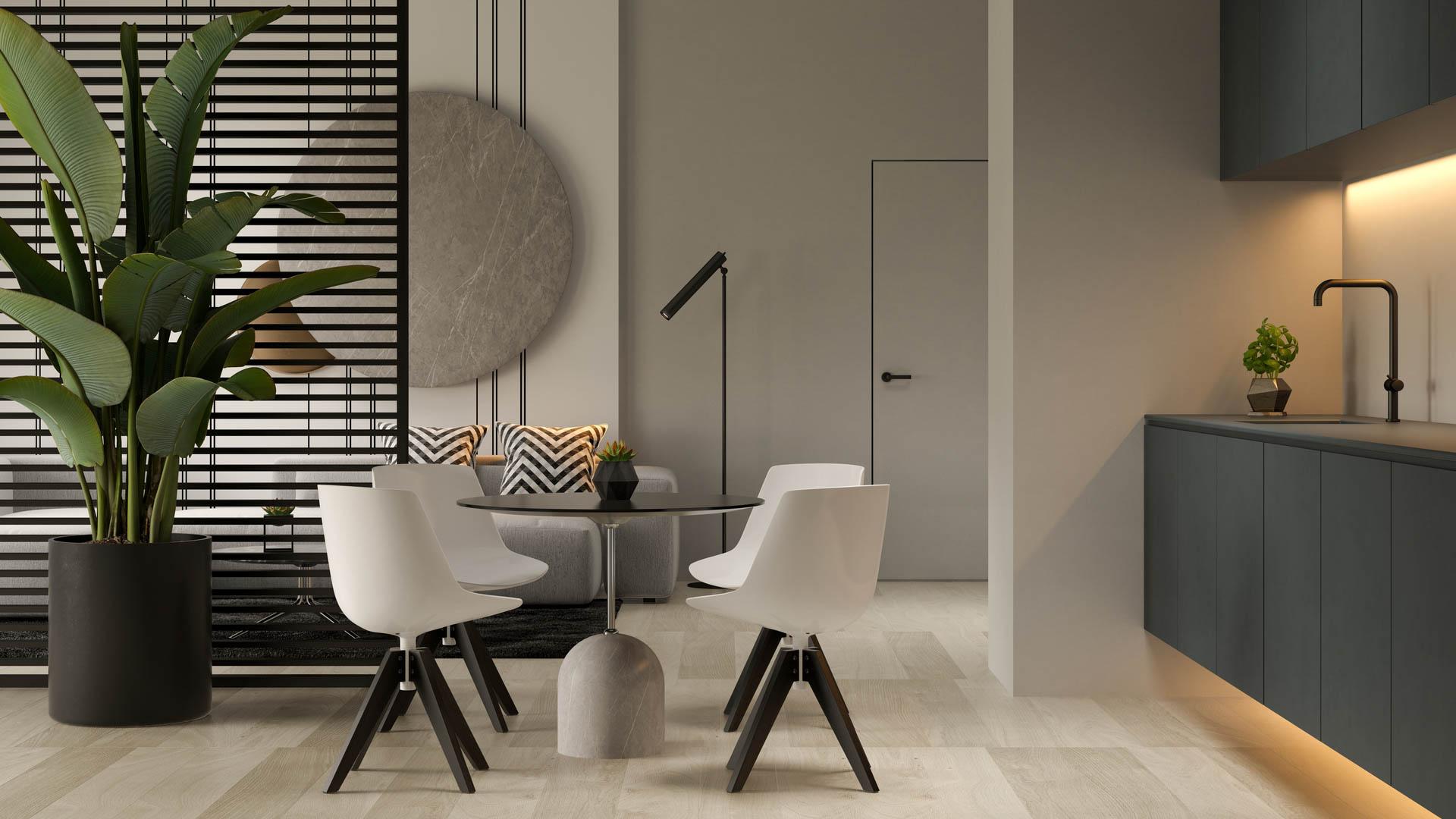 Kvaliteetsed materjalid ja ajatu siseviimistlus on Sinu uue kodu märksõnadeks!